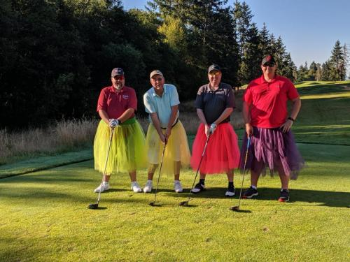 Golf 2019 Dudes in Dresses Game